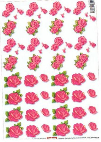 3D, Vaaleanpunaiset ruusut
