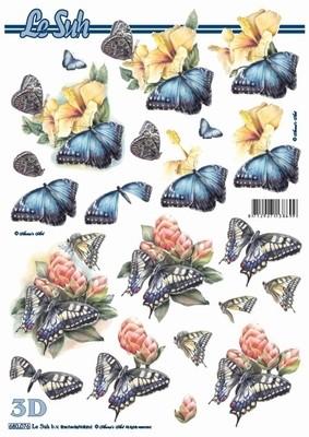 3D, Stanssattu, perhoset