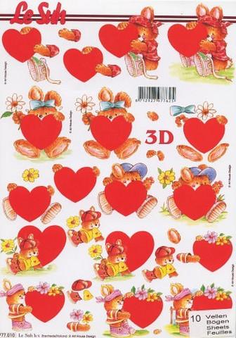 3D, Sydännalle