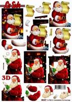 3D, Stanssattu, Joulupukki