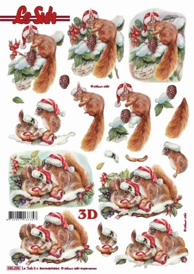 3D, Stanssattu, Joulu Oravat