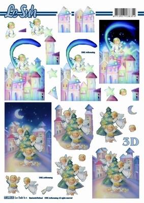 3D, Stanssattu, Joulu enkelit