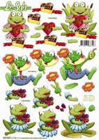 3D Stanssattu, sammakot