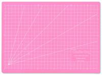 Leikkuualusta, A4, pinkki