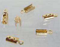 Nyörinpäät, paksut ja litistettävät, 10mm x 4mm, Kulta