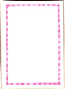 Korttipohja Vaaleanpunainen + Kuoret