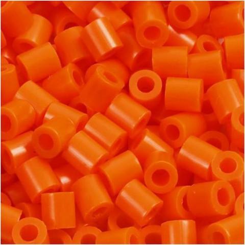 Putkihelmet, koko 5x5 mm, 1100 kpl, kirkas oranssi (13)