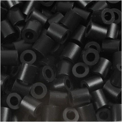 Putkihelmet, koko 5x5 mm, 1100 kpl, musta (1)