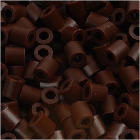 Putkihelmet, koko 5x5 mm, 1100 kpl, ruskea (3)
