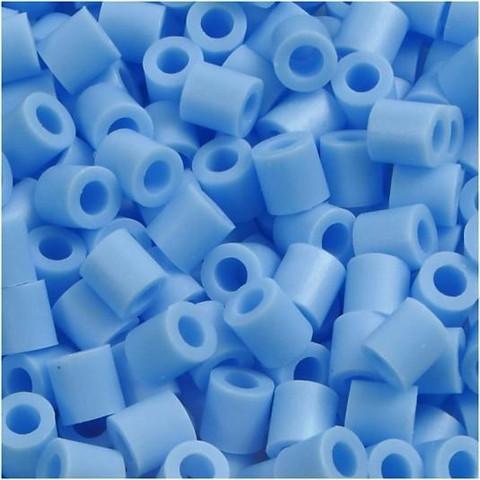Putkihelmet, koko 5x5 mm, 1100 kpl, sininenpastelli (23)