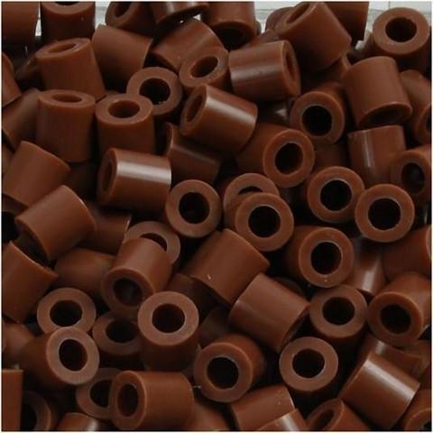 Putkihelmet, koko 5x5 mm, 1100 kpl, suklaanruskea (27)