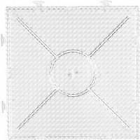Putkihelmialusta, iso yhdistettävä neliö, koko 15x15cm, kuulto