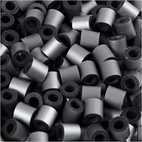 Putkihelmet, koko 5x5 mm, 1100 kpl, hopea (32262)