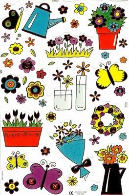 Kiiltokuva, Kukat, Foliopainatus
