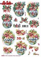 3D, Stanssattu, Joulupallo