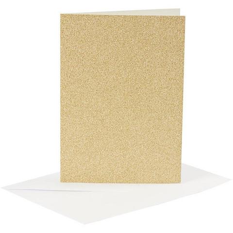Korttipohjat ja kirjekuoret, Kulta, Kimalle
