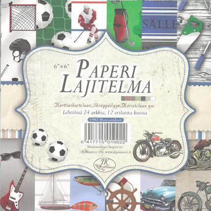 Paperilajitelma, Harrastukset 6