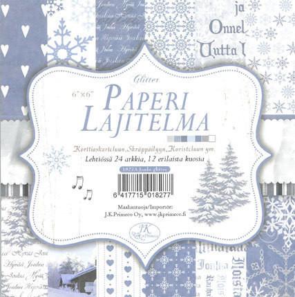 Paperilajitelma, Joulu sininen, 6