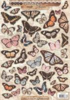 3D, Stanssattu, Vintage Perhoset, A4