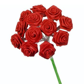 Dior-ruusu, punainen, 12mm