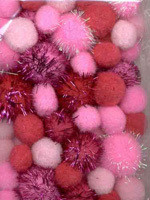 Pompoms-lajitelma, Vaaleanpunainen