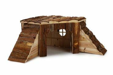 BZ Jyrsijän puinen kulmatalo 48×48×21 cm