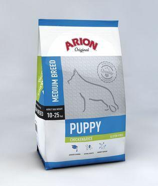 Arion Original Puppy Medium Kana & Riisi
