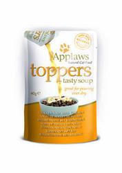 Applaws kissa Topper kanakeitto+kana 3x40g