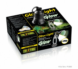 Exoterra GLOWLIGHT HALOGEN S14.4x14.4x14.4 cm