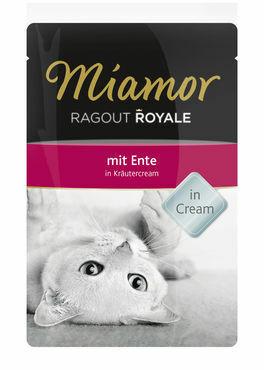 Miamor Ragout Royale in Cream ankka 100g