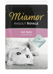 Miamor Ragout Royale in Cream kana 100g