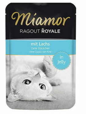 Miamor Ragout Royale Lohi Hyytelössä 100g