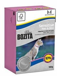 Bozita Feline Sensitive Hair & Skin 190g