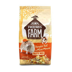 Tiny Friends Farm Reggie Rat & Mimi Mouse 850g