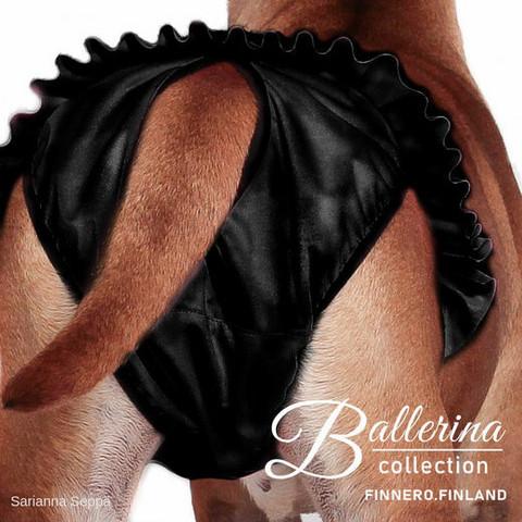 Ballerina juoksuhousut, musta