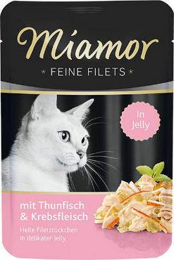 Miamor Fine Filets Tonnikala & Rapu 100g