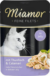 Miamor Fine Filets Tonnikala & Mustekala 100g