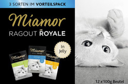 Miamor Ragout Royales Jelly 12×100g
