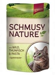 Schmusy Nature´s Menü Riista, Tonnikala & Pasta 100g