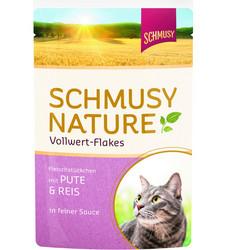 Schmusy Nature vollwert-Flakes Kalkkuna & Riisi 100g