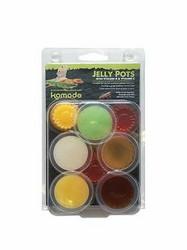 Jelly Pots Fruit Flavours 8x16g