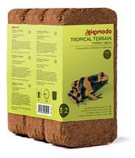 Komodo Compact Brick, pohjamateriaalia