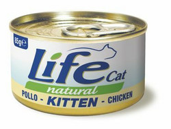 LifeCat Kitten Kana pennuille 24x85 g