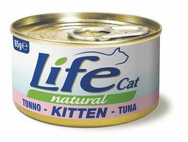 LifeCat Kitten Tonnikala pennuille 24x85g