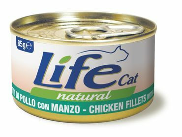 LifeCat Kana & Nauta 24x85g