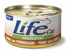 LifeCat Tonnikala & Juusto 24x85g