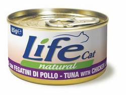 LifeCat Tonnikala & Kananmaksa 24x85g