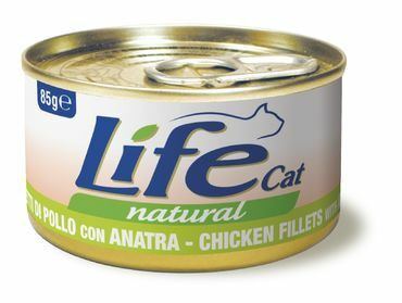 LifeCat Kana & Ankka 24x85g