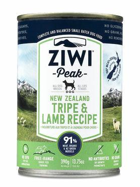 ZiwiPeak Dog Uuden-Seelannin LAMPAAN MAHA 6x390g