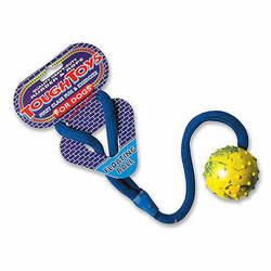 Happy Pet, Tough Toy, täyskumipallo köydellä, kelluva